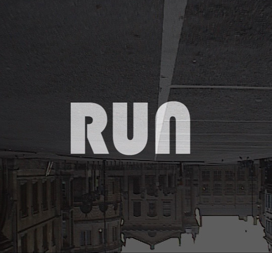 RUN film title screen
